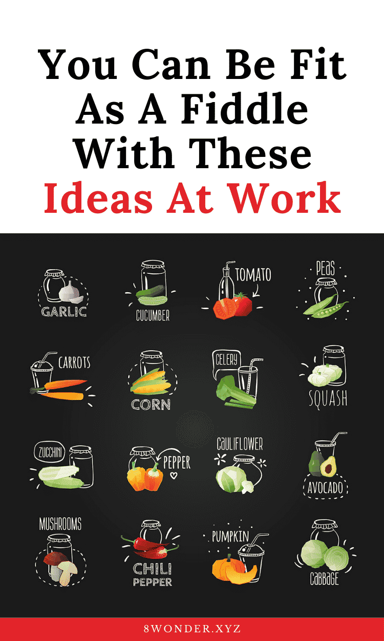 be fit at work ideas