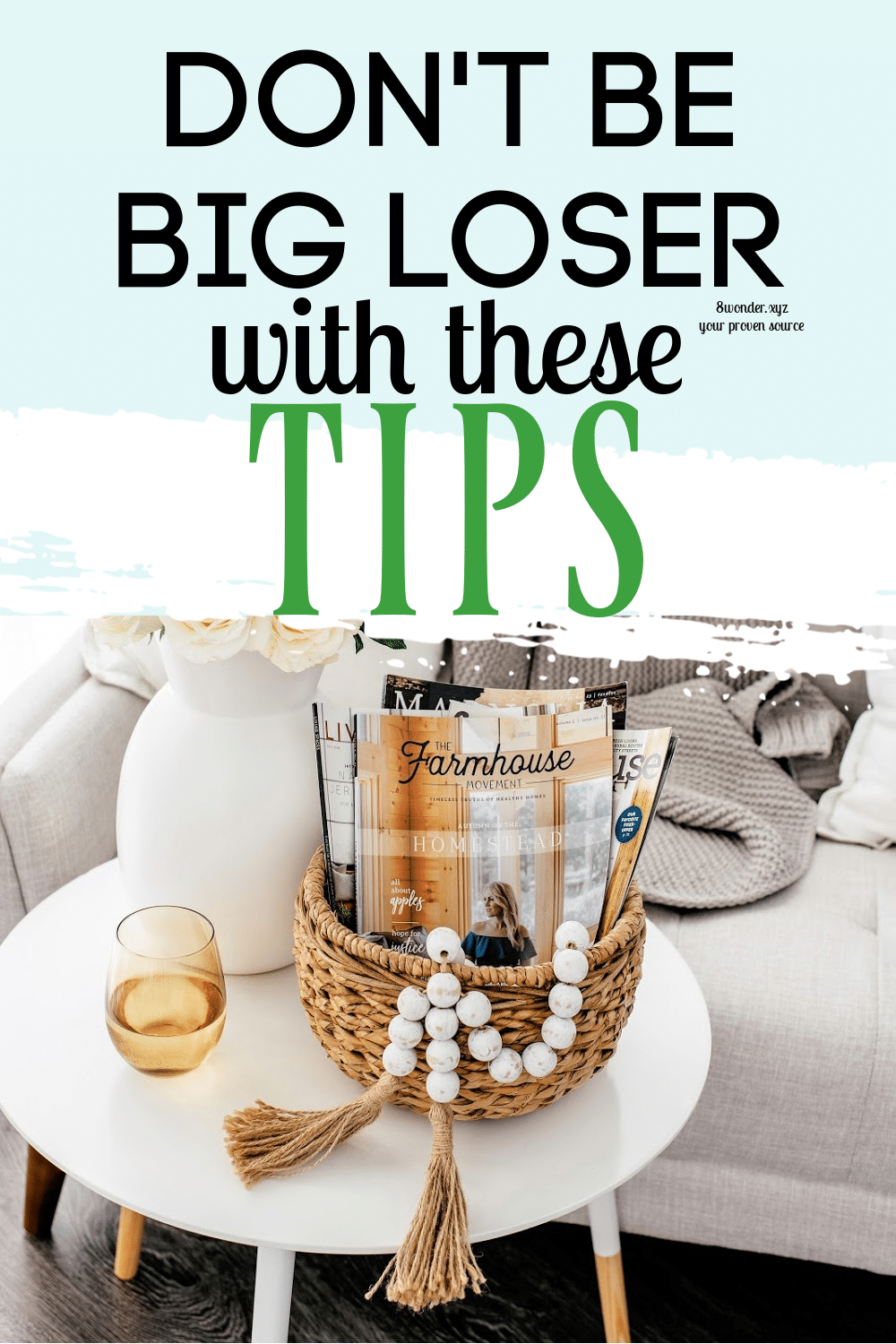 Dont be a loser best weight loss tips