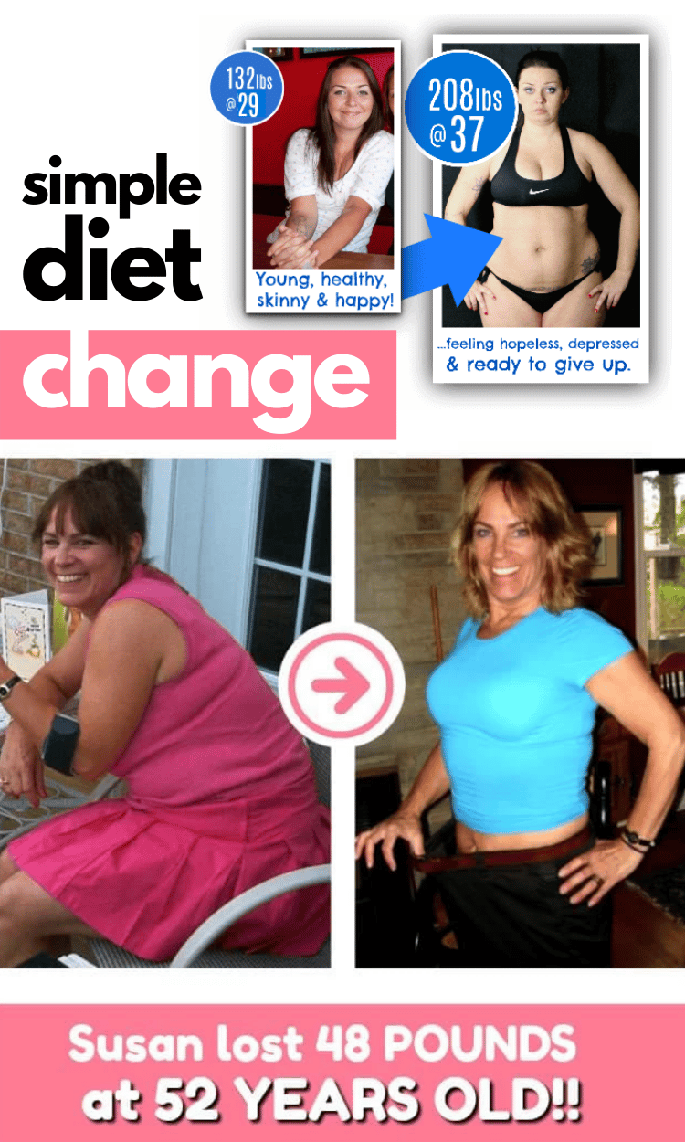 Achieve your weight loss goals simple diet change