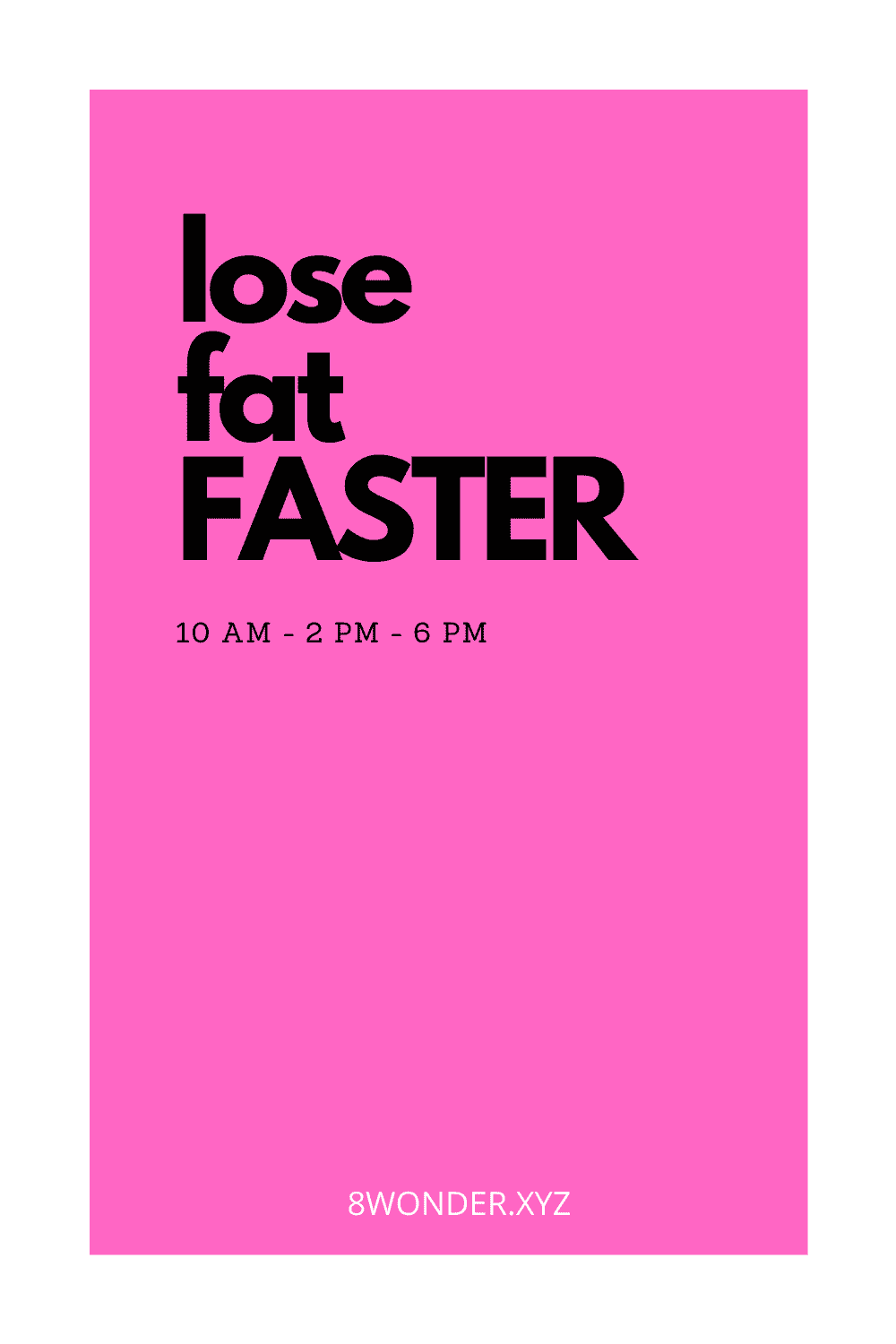 Accelerate Your weight loss