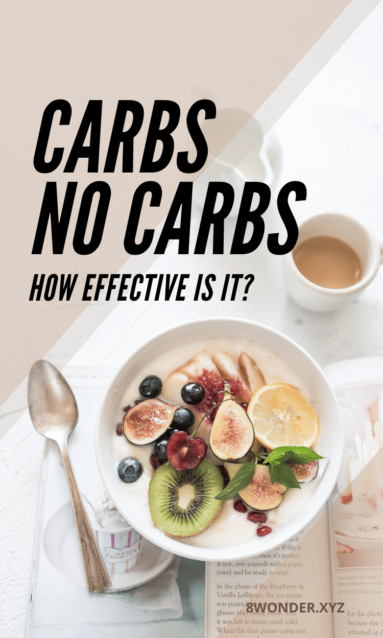 No carb instead of low carb