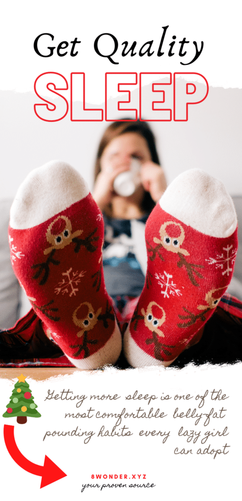 7 lazy ways to burn belly fat in winter