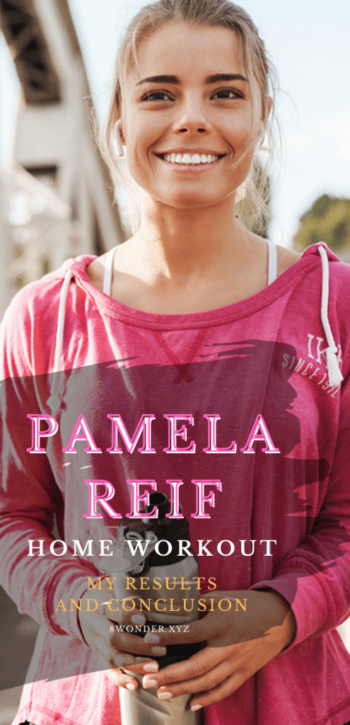 Pamela Reif Home Workout my results