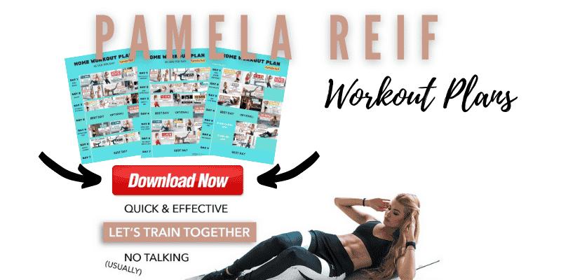 Pamela Reif Workout Plans