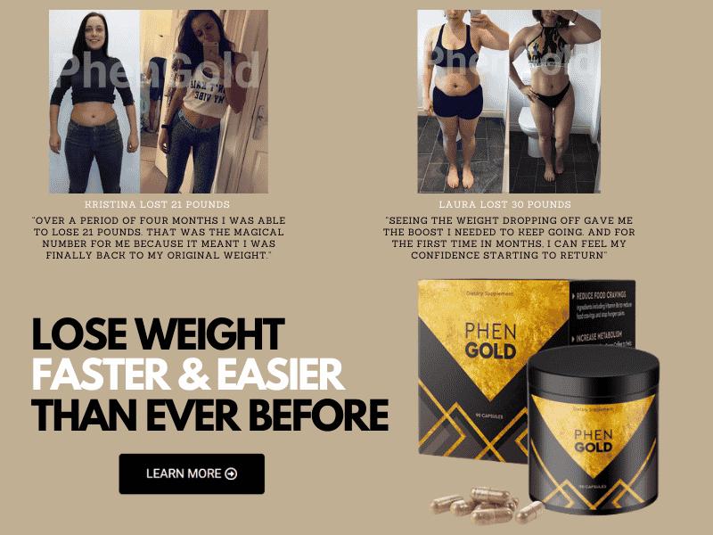 Phen GOLD weight loss supplement