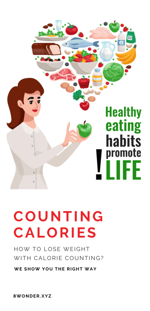 lose weight with the calorie counting