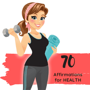 weight loss affirmations and health