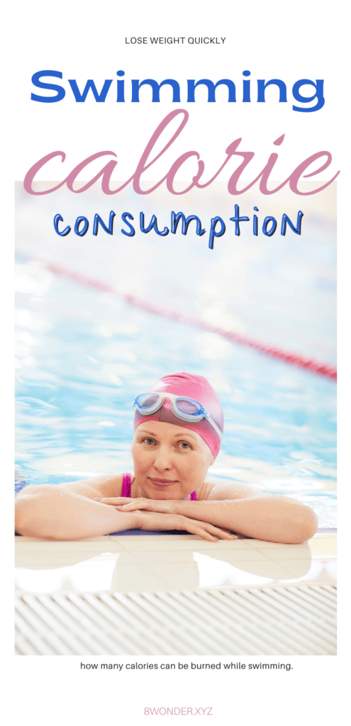 Calorie Consumption while swimming