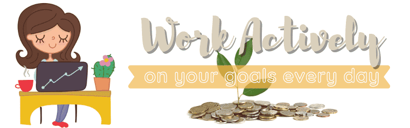 Work actively rule for wealth and prosperity