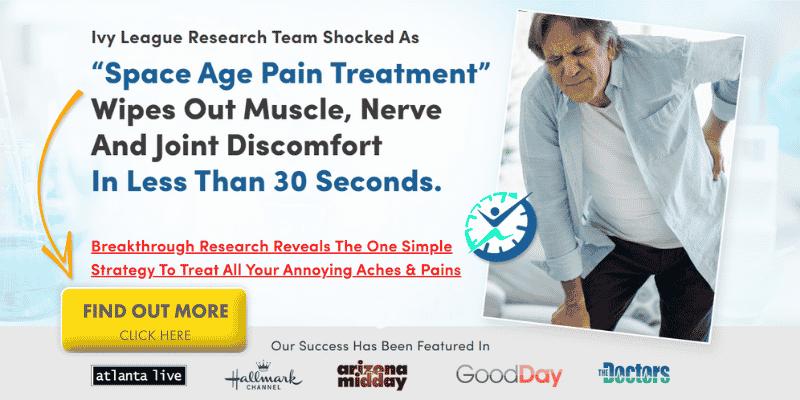 Natural pain relief NASA study