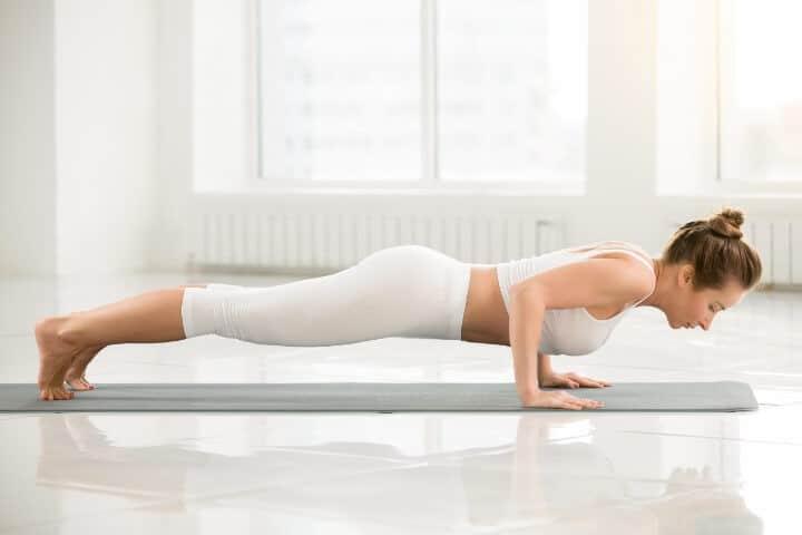 Chaturanga Dandasana yoga