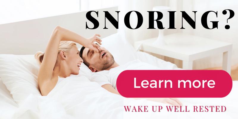 Snoring help