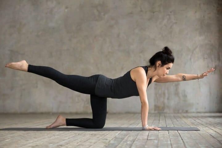 tiger pose strengthens asana yoga